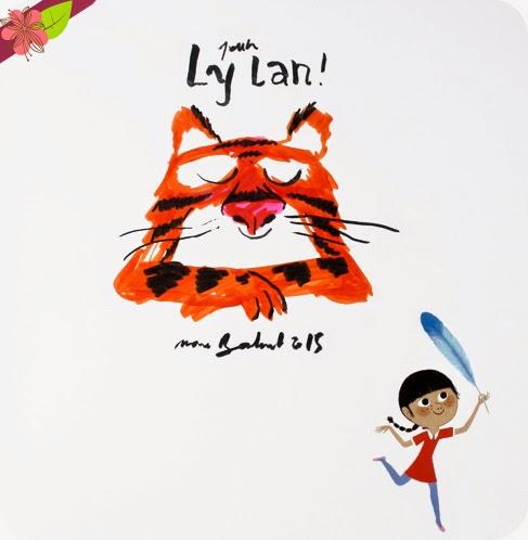 Dédicace de Marc Boutavant - Ne chatouille jamais un tigre !