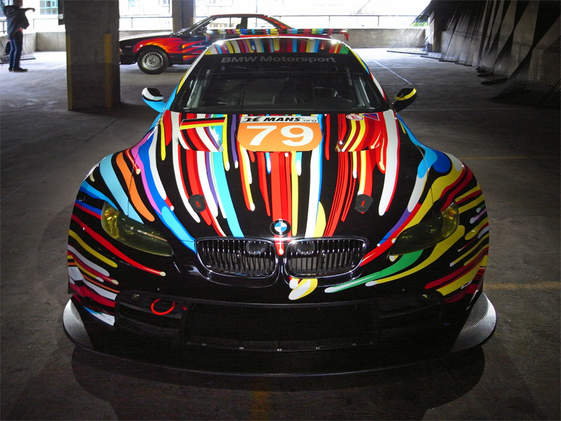 bmw art car collection in london video. Black Bedroom Furniture Sets. Home Design Ideas