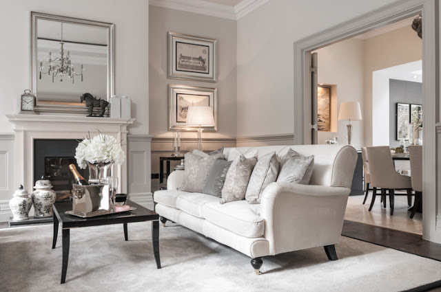 Heimsverden: vakker stue