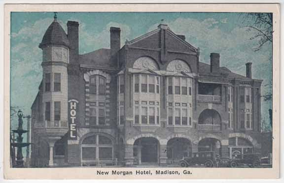 New Morgan Hotel 1920s