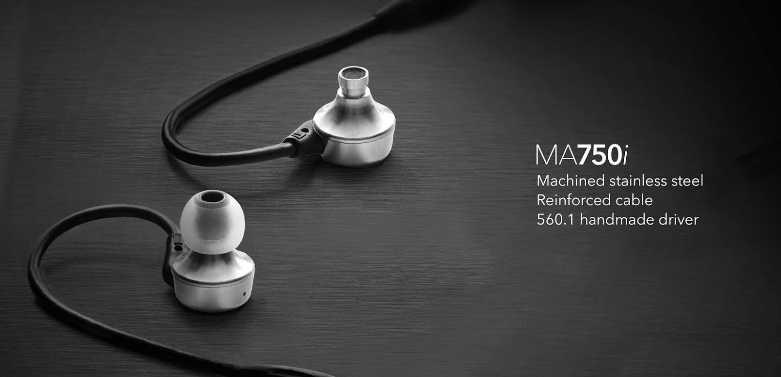 âm thanh, tai nghe rha ma750i