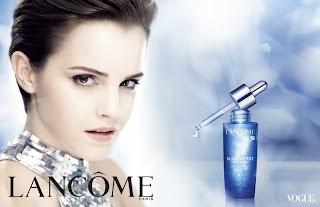 Emma Watson Lancôme's Blanc Expert Derm-Crystal