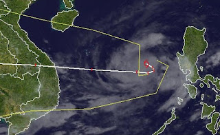 Tropischer Sturm GAEMI | MARCE wird auf dem Weg nach Vietnam eventuell zu einem Taifun, Gaemi, Marce, aktuell, Philippinen, Vietnam, Satellitenbild Satellitenbilder, Vorhersage Forecast Prognose, Taifunsaison 2012, Oktober, 2012,