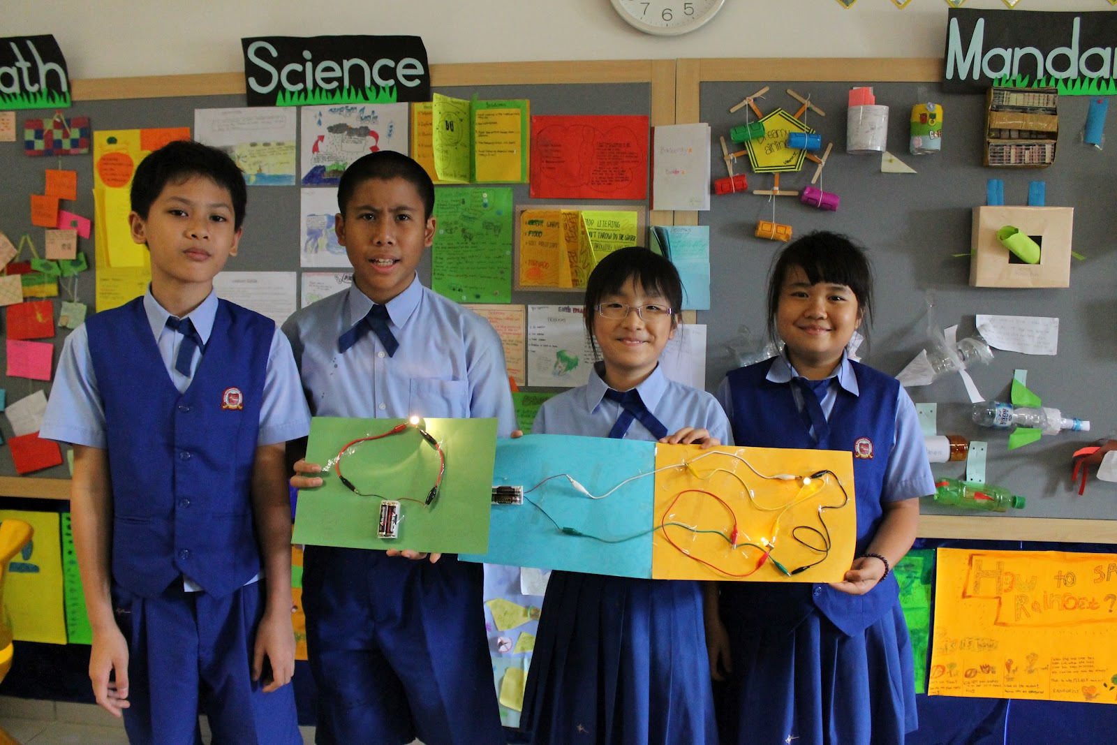 making of parallel and series circuit science presentation
