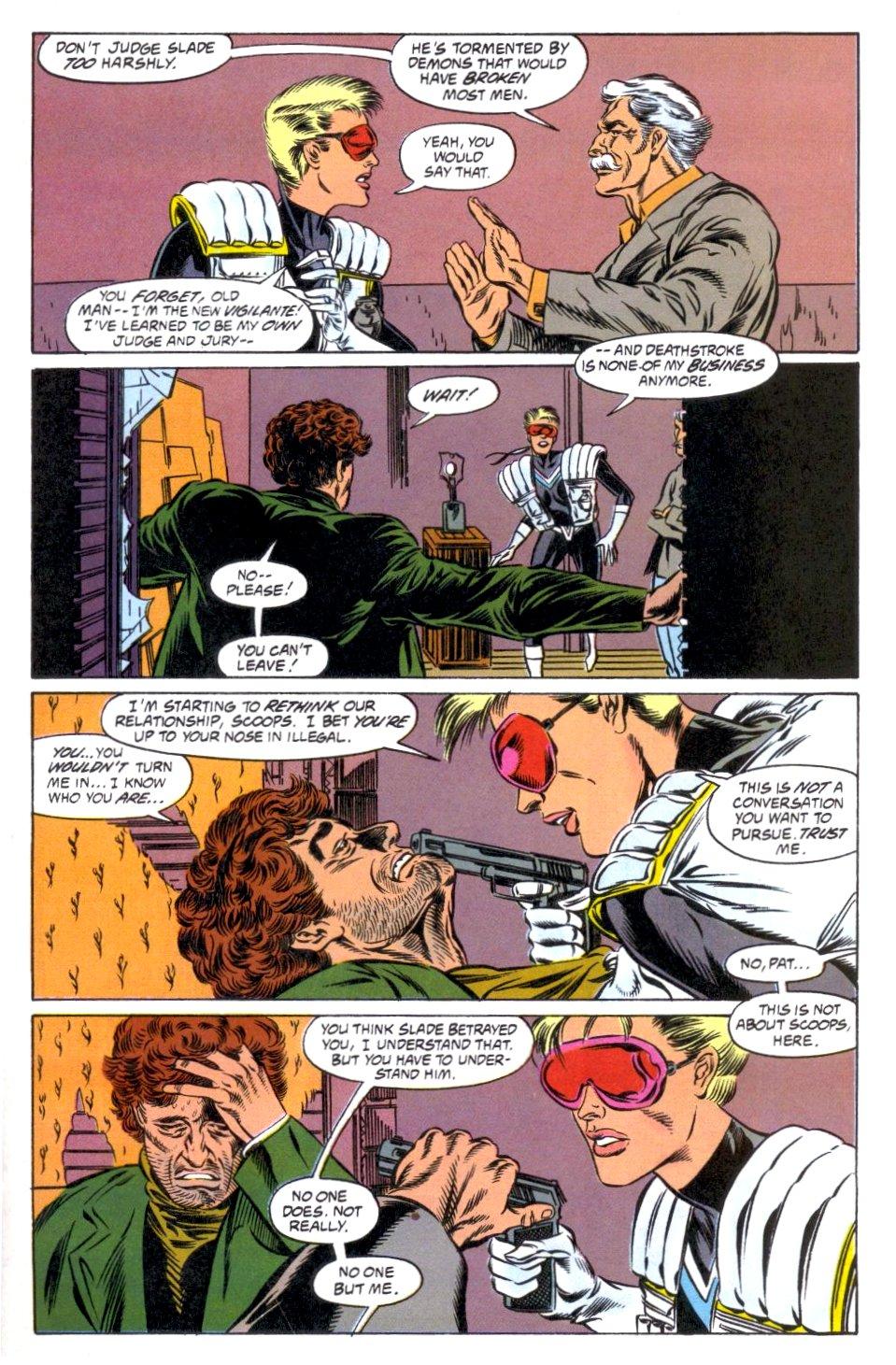 Deathstroke (1991) Issue #12 #17 - English 21
