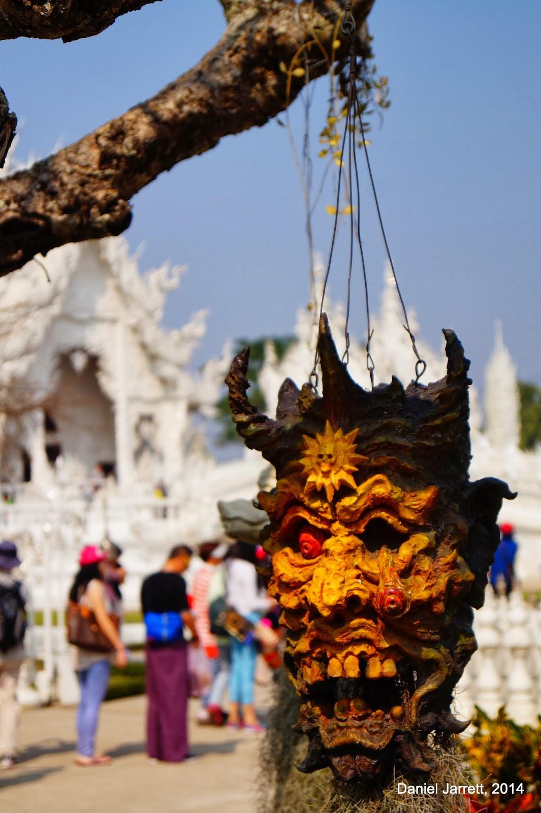 Wat Rong Khun Eyeball Chiang Rai