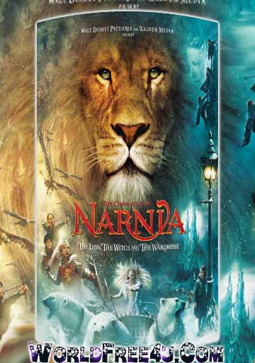 Poster Of Narnia 1 (2005) In Hindi English Dual Audio 300MB Compressed Small Size Pc Movie Free Download Only At worldfree4u.com
