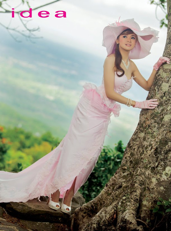 Beautiful Myanmar Model Photos