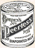 Antique-Advertisement-Borden's-Peerless-Milk-Royalty-Free
