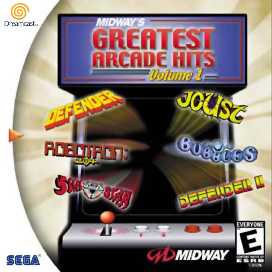 Game: Midway's Greatest Arcade Hits Volume 1