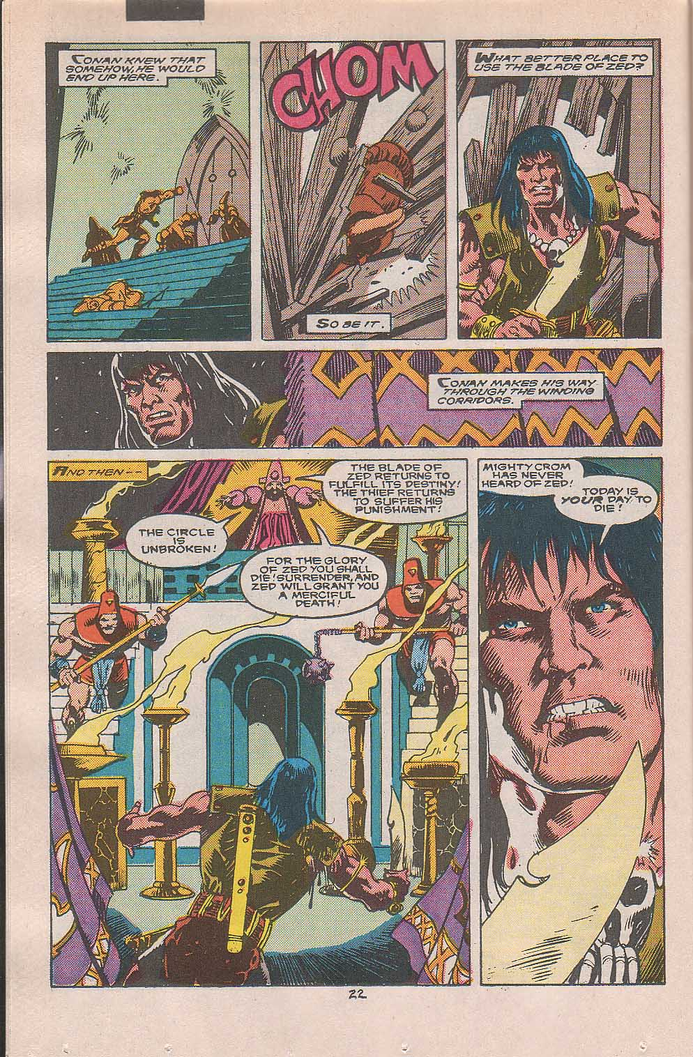Conan the Barbarian (1970) Issue #216 #228 - English 18