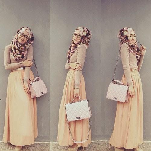 Trend Hijab Terbaru Dini Djoemiko Tutorial Hijab