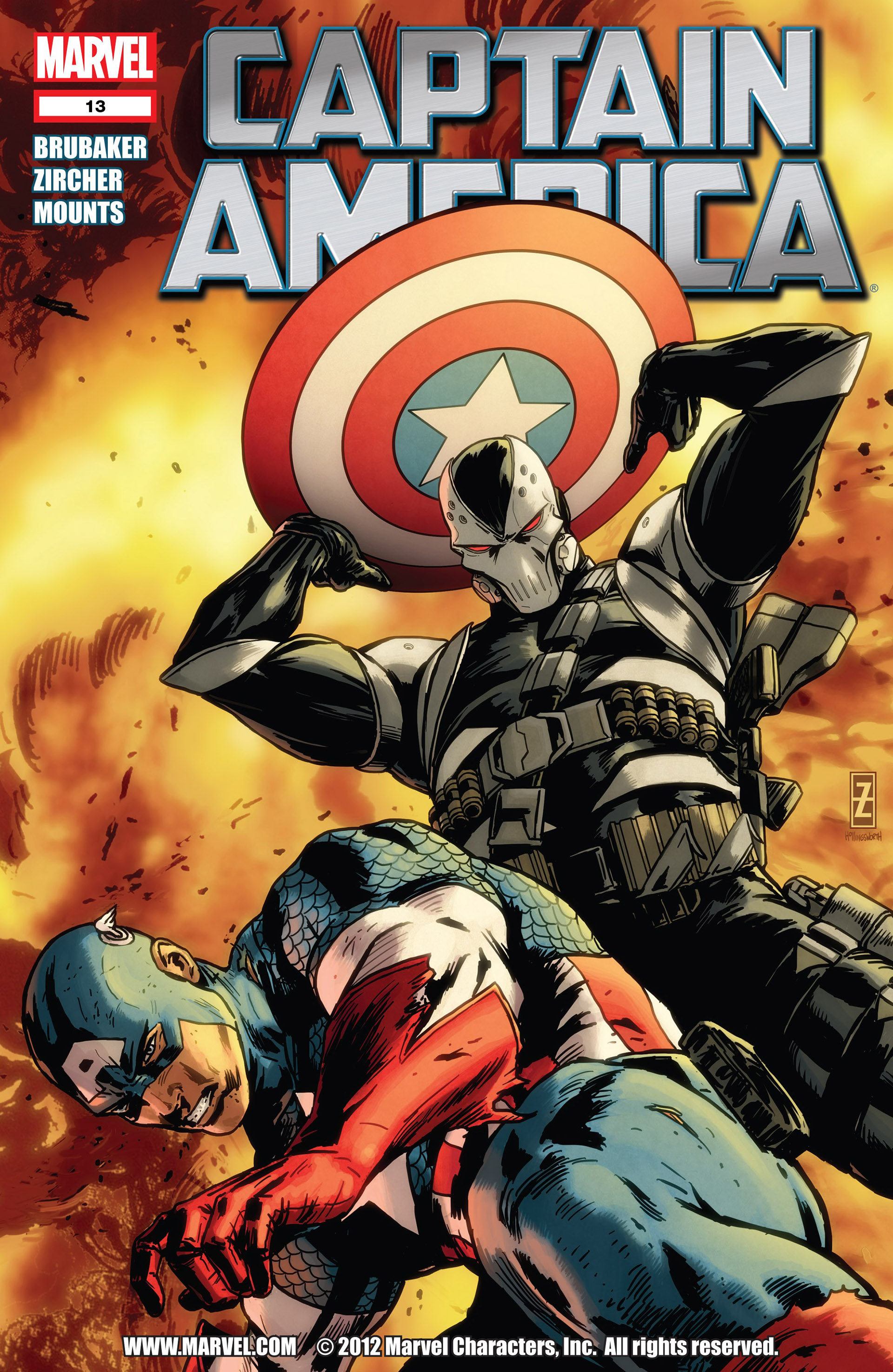 Captain America (2011) Issue #13 #13 - English 1