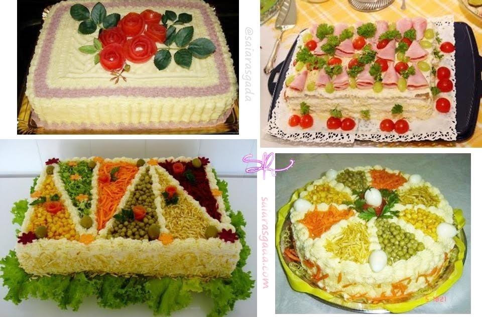 14 ideias de como decorar torta salgada especial niver for Como decorar una torta infantil