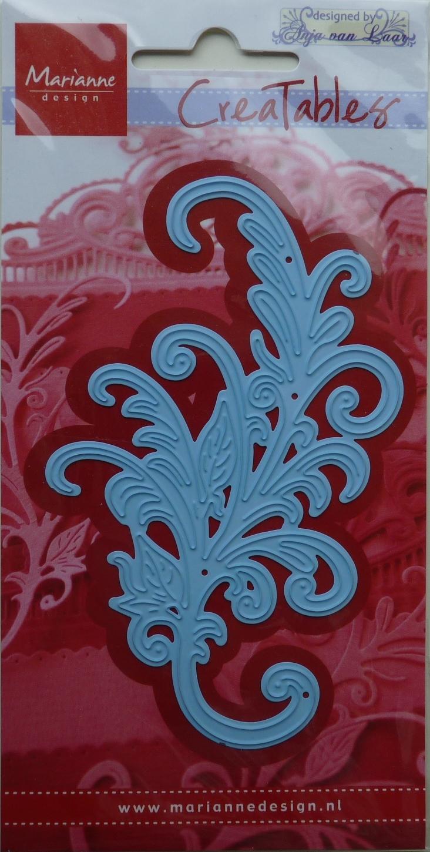 De nieuwe swirl van mei. 10,5 x 6,5 cm
