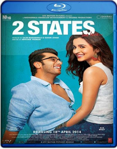 2 States (2014) BluRay 720p BRRip 875MB