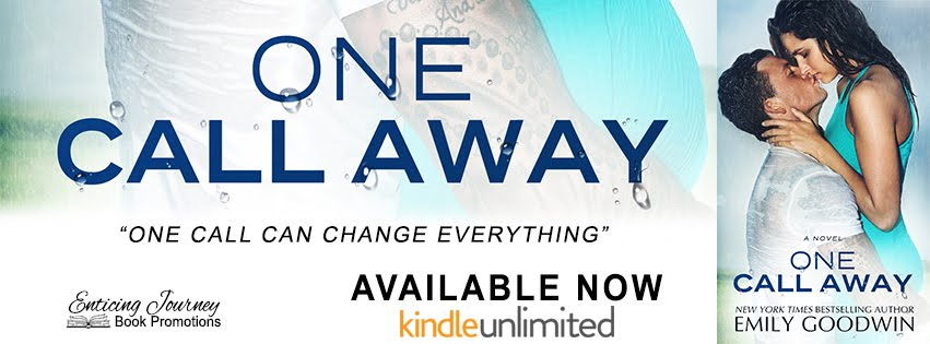 One Call Away Release Blitz
