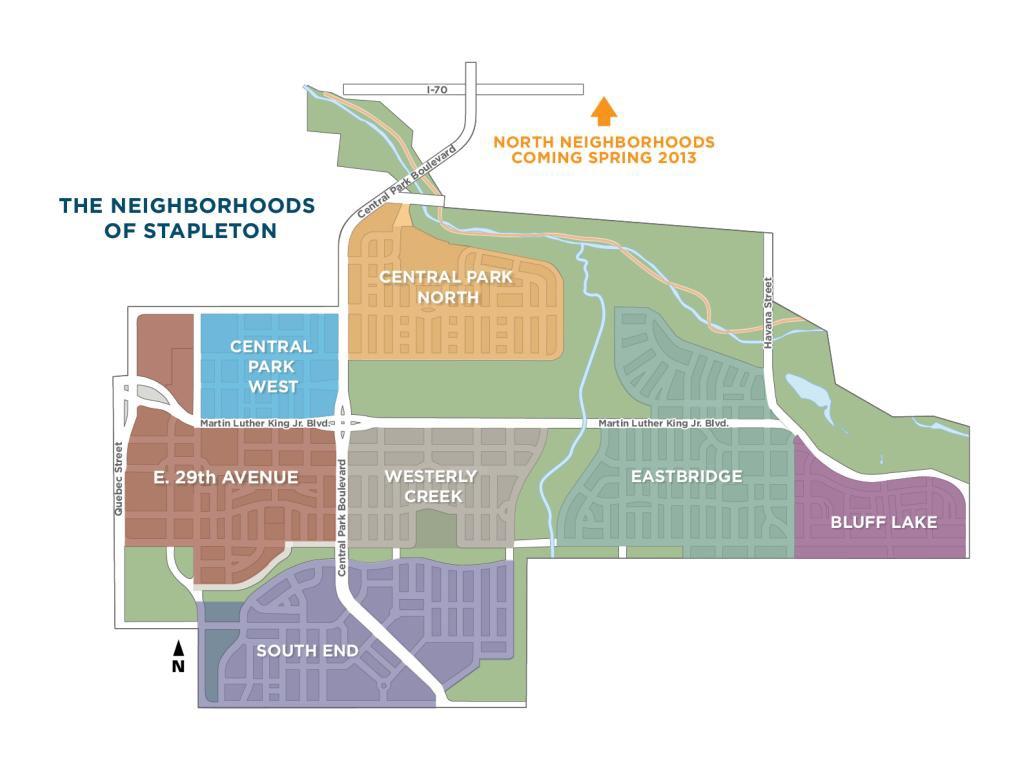 Tjc real estate stapleton development meeting for Stapleton builders