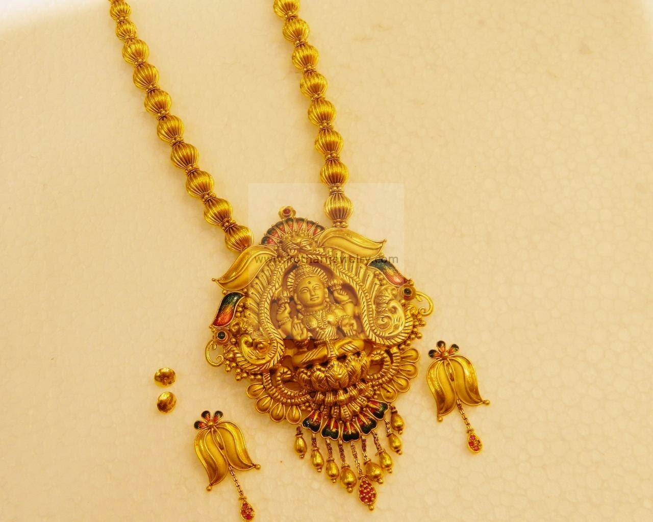 Temple Jewellery Designs Kasula Peru Designs New