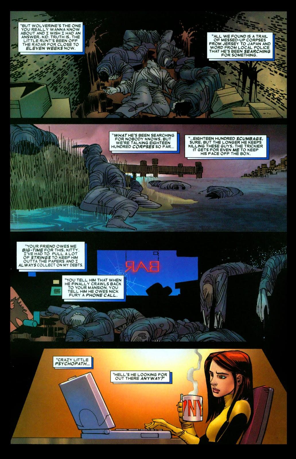 Read online Wolverine (2003) comic -  Issue #31 - 20