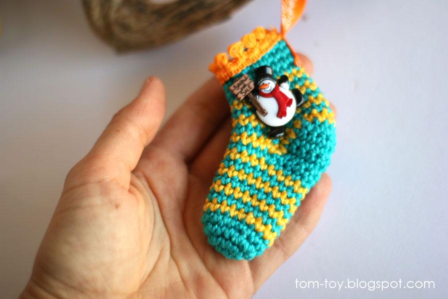 christmas socks ornament