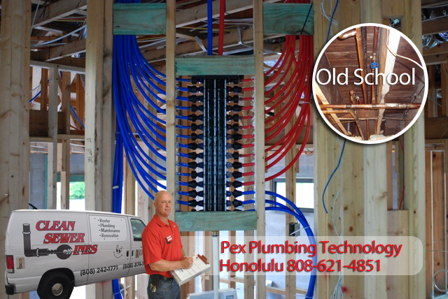 Hawaii kai plumbing service commercial residential for Using pex for drain lines