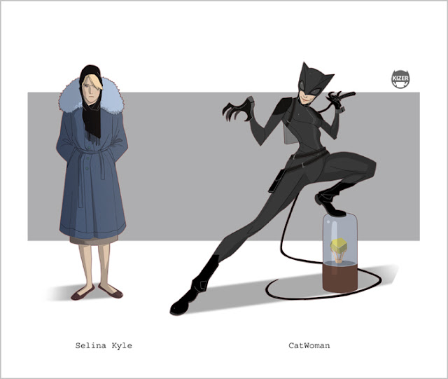 catwoman illustrated