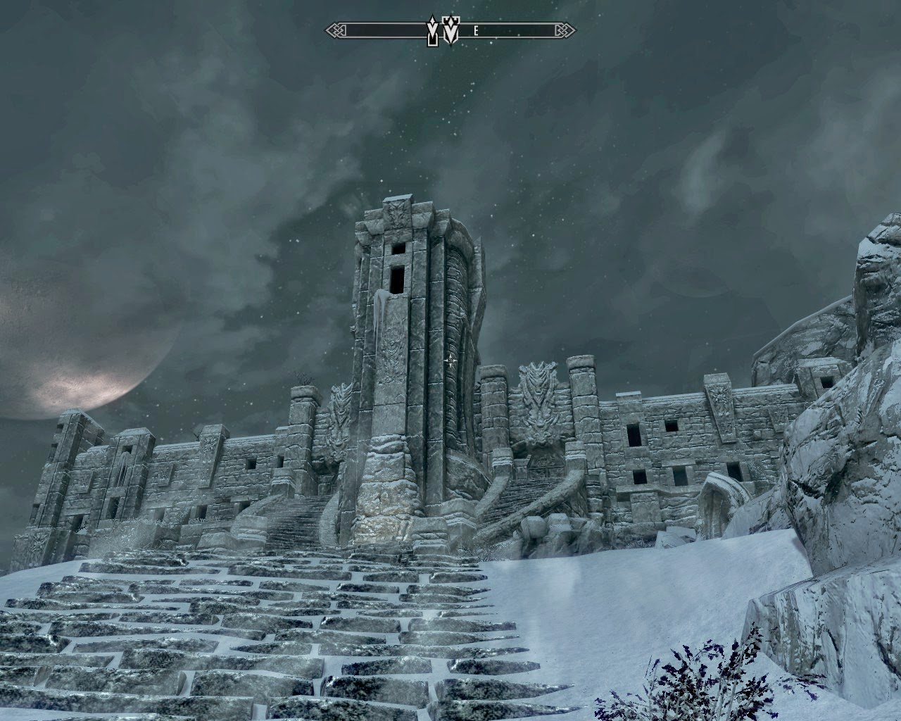 The art of architecture skyrim high hrothgar
