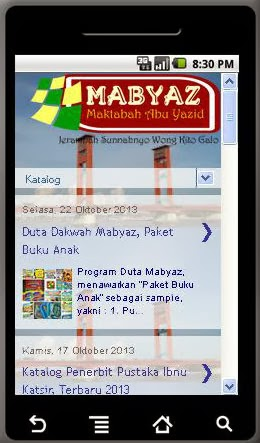 Mabyaz on Android