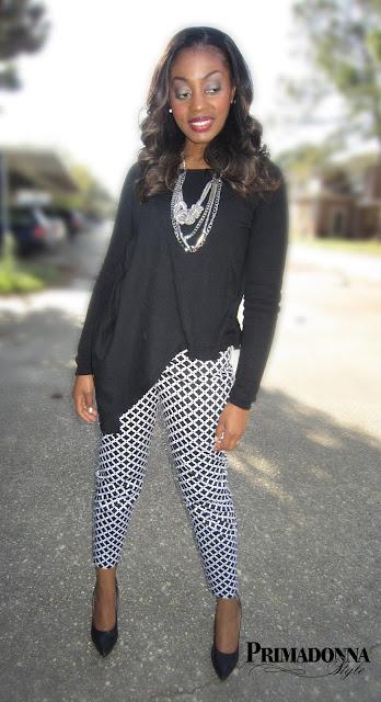 Dana Buchman Geometric Straight-Leg Twill Ankle Pants Gabriella Rocha Saber Asymmetric Draped Sweater