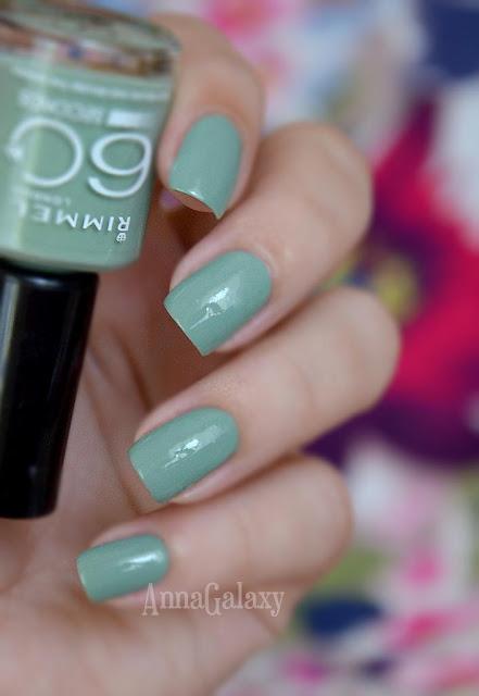 Лак для нігтів Rimmel London 60 seconds nail polish