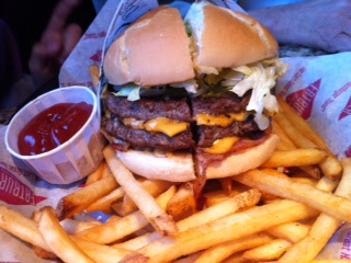 Fatburger Double Cheese