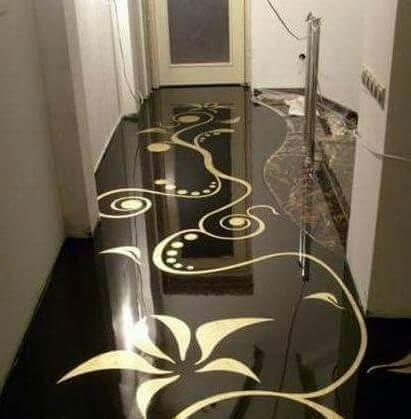 Construindo minha casa clean porcelanato l quido ou for Ver pisos decorados