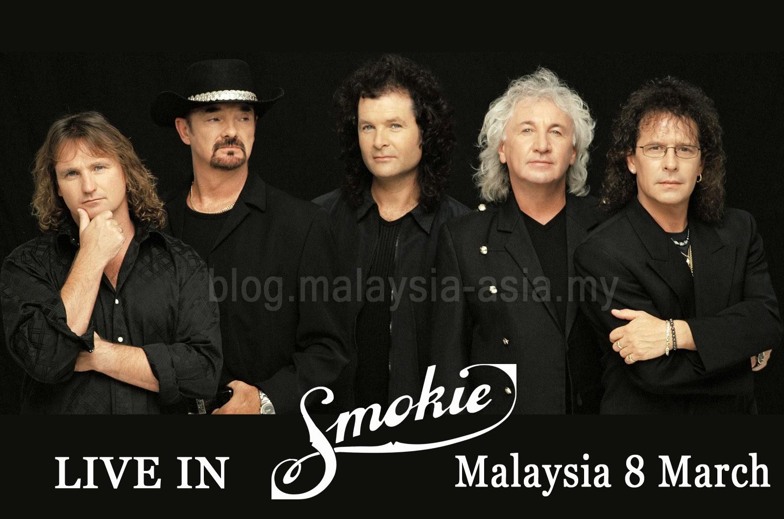 Smokie Live in Malaysia My Music Festival