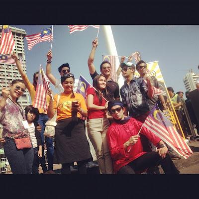 Kemerdekaan ke 55, artis sambut merdeka tahun 2012, dataran merdeka,