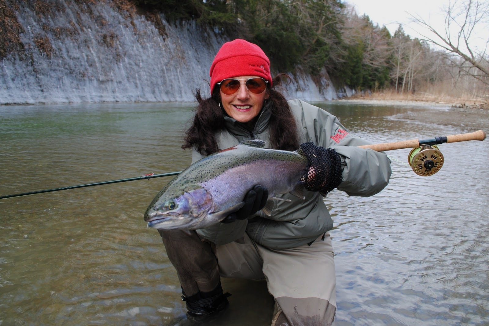 Steelhead alley outfitters lake erie fly fishing guide for Keystone lake fishing report