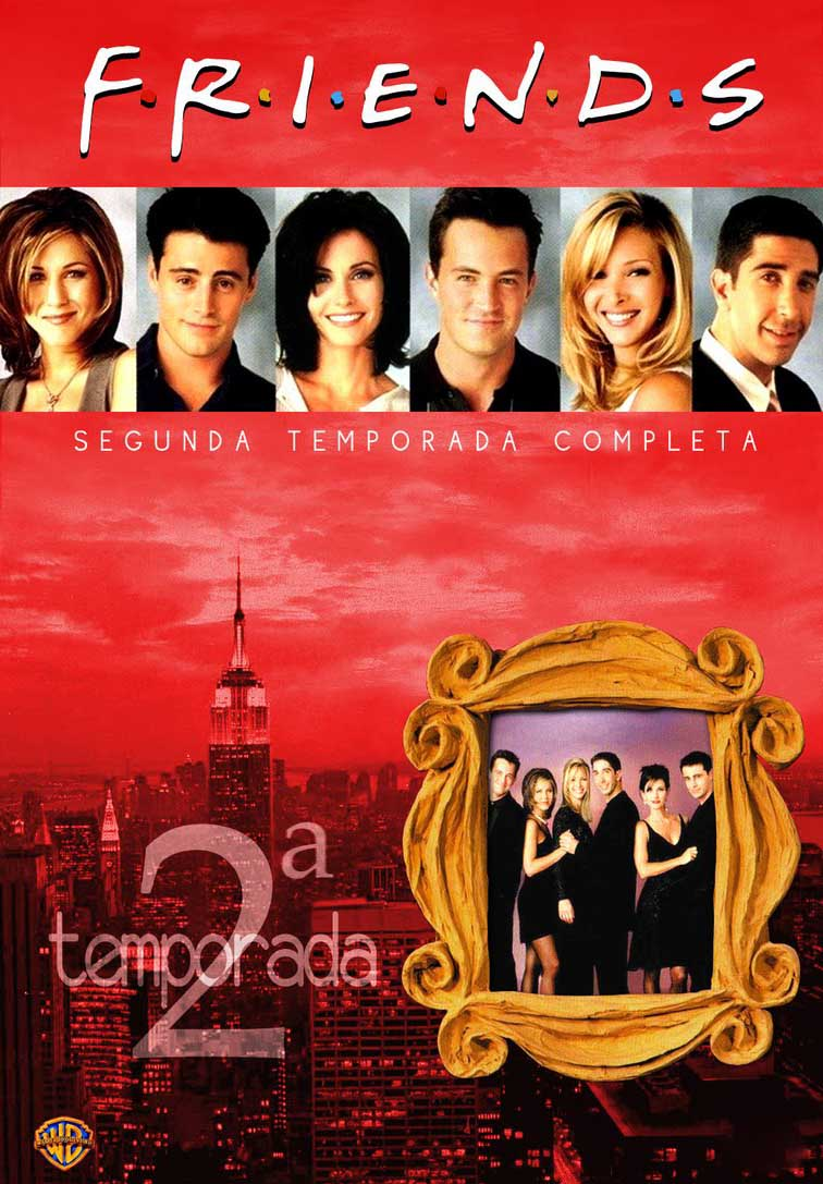 Friends 2ª Temporada Torrent - BluRay 720p Dual Áudio (1995)