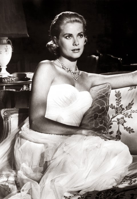 grecian gown - princess grace kelly of monaco style icon