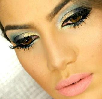 Maquiagem Reveillon 2013 cintilante