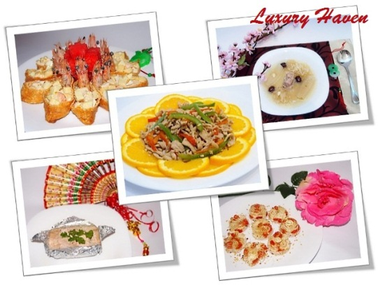 chinese new year reunion dinner creative recipe ideas