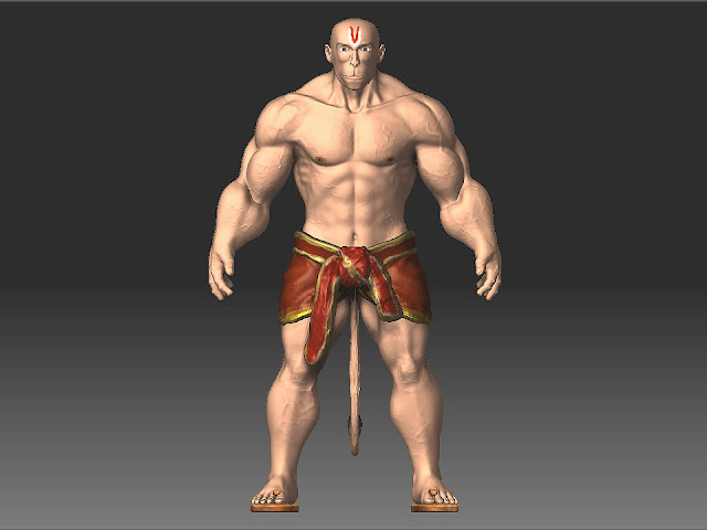 hanuman Body Wallpaper