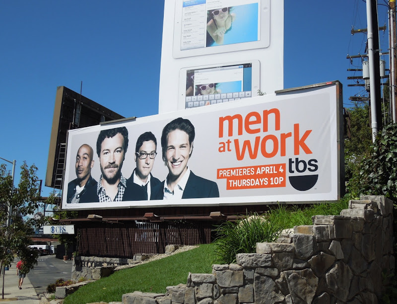 Men at Work 2 billboard
