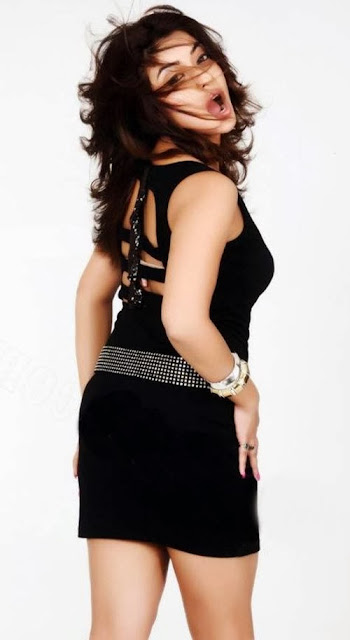 Payal Ghosh In Black Dress Photoshoot