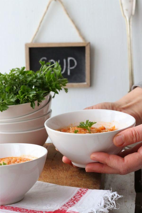 zuppa di quinoa e fagioli cannellini