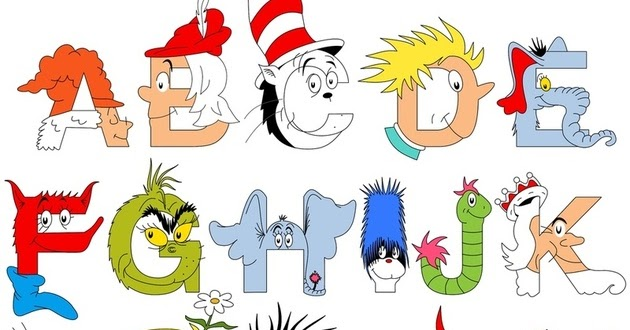 It is a photo of Modest Dr Seuss Letters Printable