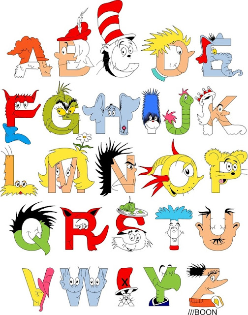 Dr. Seuss, alphabet