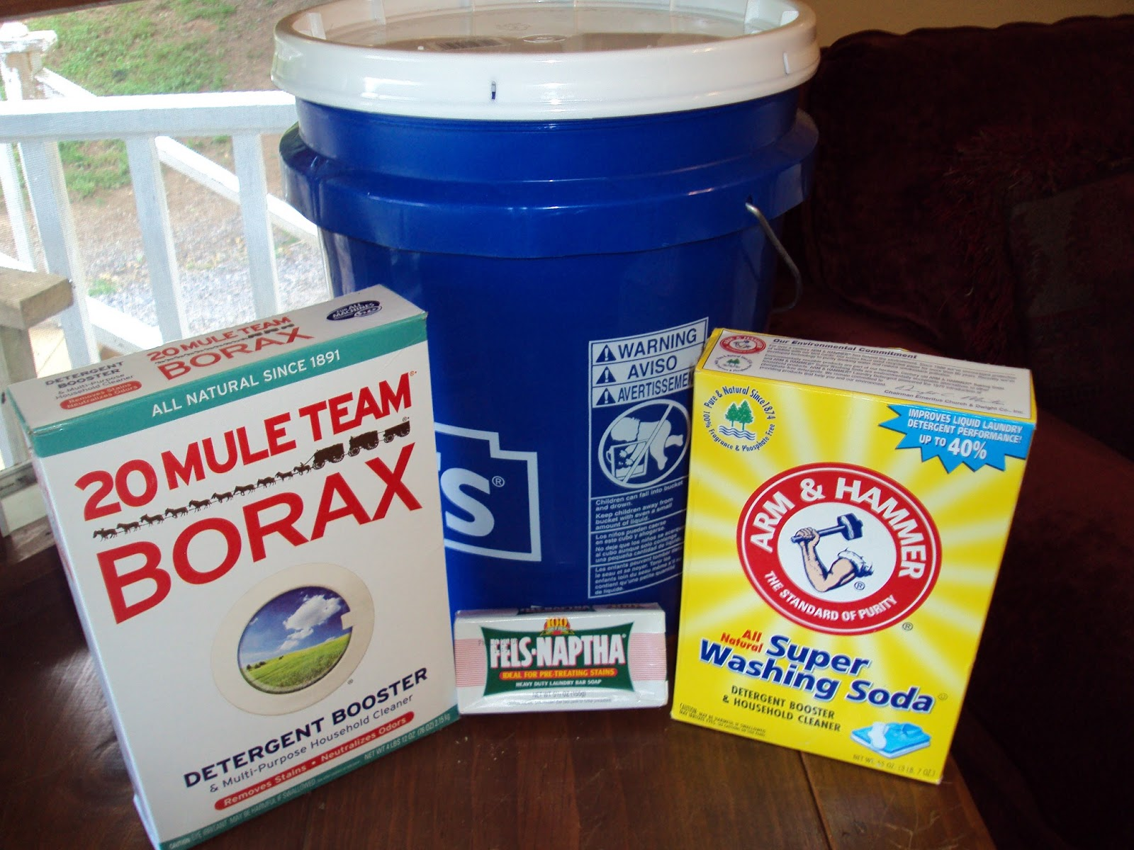 Homemade Liquid Laundry Detergent Duggar Style Two