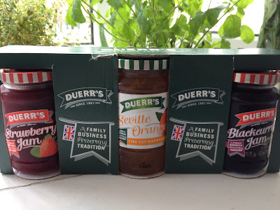 ThatRedheadSaid : Baking with Duerr's : Jam Selection