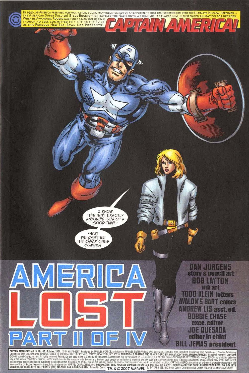 Captain America (1998) Issue #46 #53 - English 3