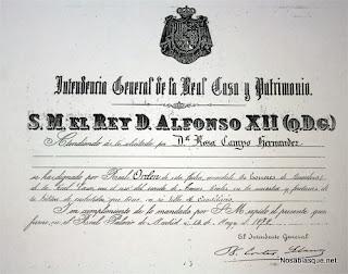 Real orden de márchamo chorizo de Candelario Salamanca